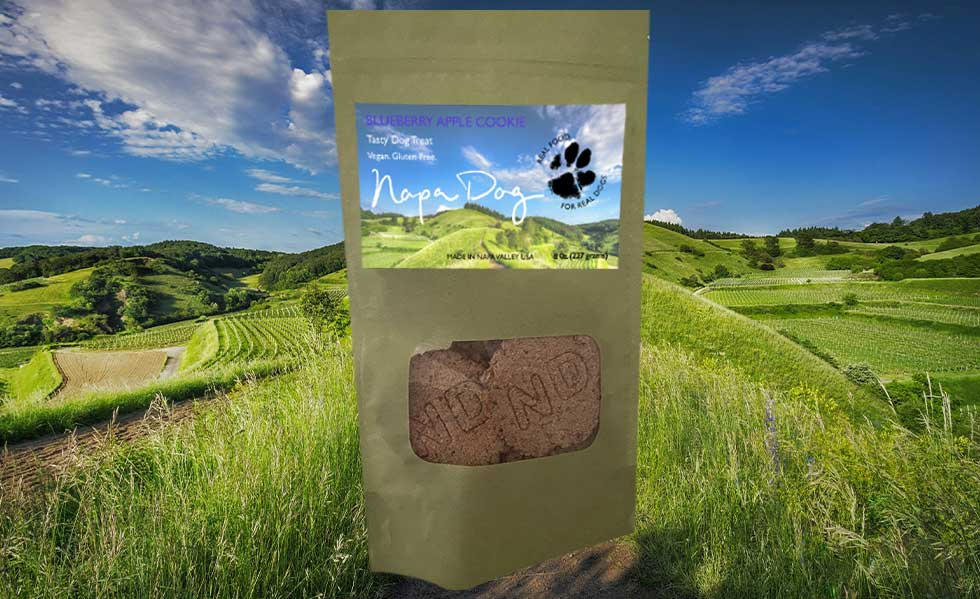 Napa Dog Shop Now Blueberry Apple Cookie